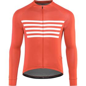 Bontrager Circuit Cycling LS Jersey Herr cardinal